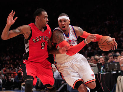 Raptors asaltan el Madison Square Garden